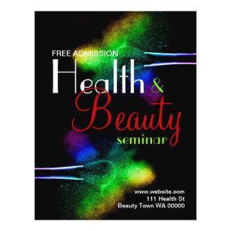 Gesundheits-Schönheits-Seminar-Flyer-Einladung 21,6 X 27,9 Cm Flyer