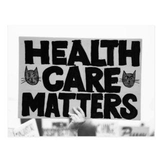 Gesundheitswesen-Angelegenheiten Postkarte