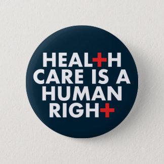 Gesundheitswesen ist ein menschlicher rechter runder button 5,7 cm