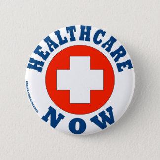 Gesundheitswesen jetzt! runder button 5,7 cm