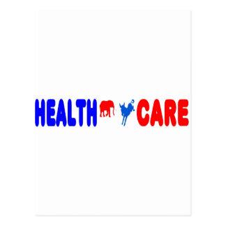 Gesundheitswesen Postkarte
