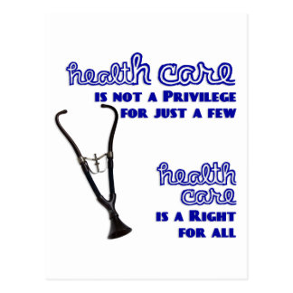 Gesundheitswesen-Reform-Unterstützung Teds Kennedy Postkarte