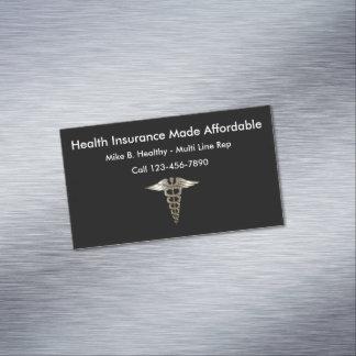 Gesundheitswesen Visitenkartenmagnet
