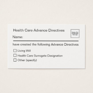 Gesundheitswesen-Vorübertragungskarte Visitenkarte