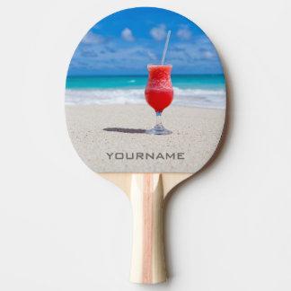 Getränk auf kundenspezifischem Paddel pong Tischtennis Schläger