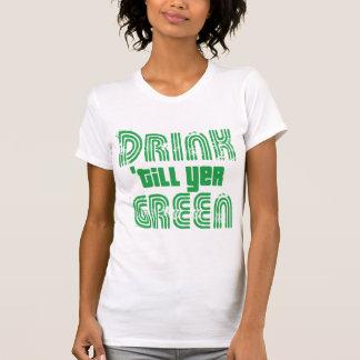 Getränk bebauen YER-Grün T-Shirt