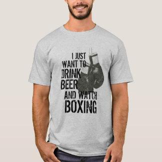 Getränk-Bier-Uhr-Verpacken-Shirt T-Shirt