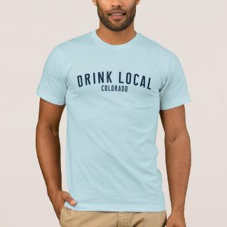 Getränk-Einheimisches - T - Shirt Denvers,