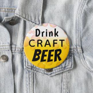 Getränk-Handwerks-Bier Runder Button 10,2 Cm