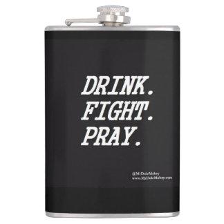 Getränk-Kampf beten Flasche Flachmann