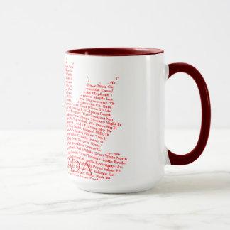 Getränk mit Kanadiern Tasse