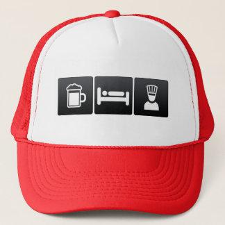 Getränk, Schlaf und Führungskraft-Köche Truckerkappe