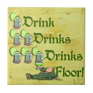 Getränke auf mir! ~ irischer keramikfliese