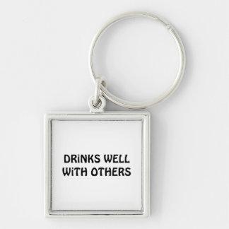Getränke gut mit anderen schlüsselanhänger