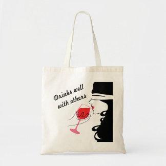 Getränke gut mit anderen sexy Wein-Taschen-Tasche Tragetasche
