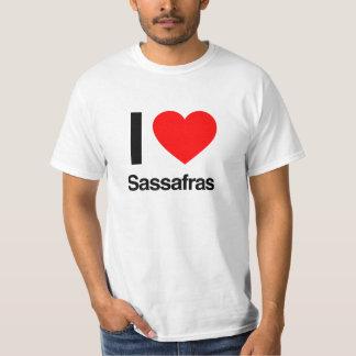 getrocknete Sassafraswurzel der Liebe I T-Shirt