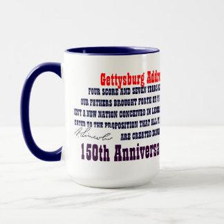 GETTYSBURG-ADRESSE TASSE