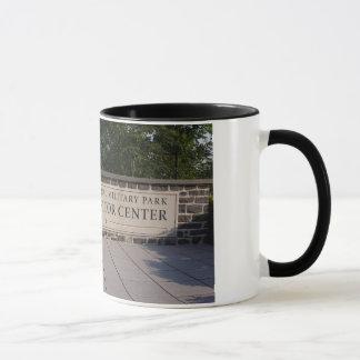 Gettysburg-Besucher-MittelTasse Tasse