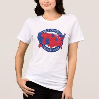 Gewählter Präsident Trumpf gewann roten weißen T-Shirt
