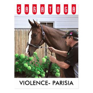 Gewalt - Parisia Postkarte