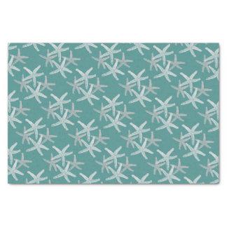 Gewebegeschenkpapier Starfish-Schneeflocke Seidenpapier