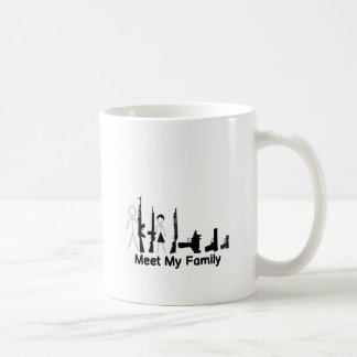 GEWEHR-FAMILIE KAFFEETASSE