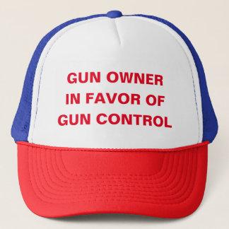 Gewehr-Inhaber zugunsten der Gewehr-Kontrolle Truckerkappe