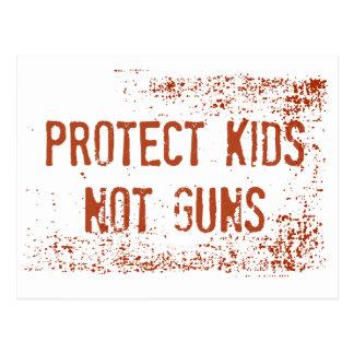 Gewehr-Kontrollen-Protest-Postkarte | schützen Postkarte