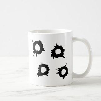 Gewehr-Schuss Kaffeetasse