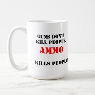 Gewehre töten nicht… kaffeetasse