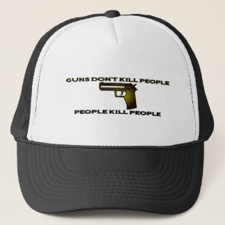Gewehre töten nicht Leute-Leute-Tötungs-Leute-Hut Truckerkappe