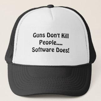 Gewehre töten nicht Leute….Software tut! Truckerkappe