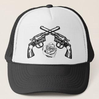 Gewehre und Rosen Truckerkappe