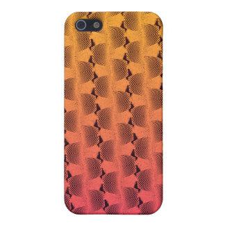 Gewellte Linien in tropischem FarbeiPhone 4/4S iPhone 5 Hüllen