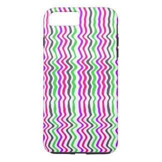Gewellter Streifen 2014 iPhone 8 Plus/7 Plus Hülle