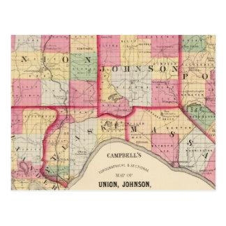 Gewerkschaft, Johnson, Alexander, Pulaski Postkarte