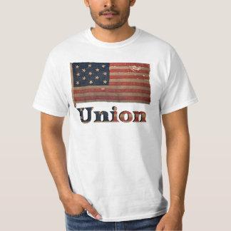 Gewerkschafts-Armee-ziviler Krieg beunruhigte T-Shirt