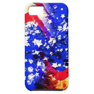 Gewerkschafts-Jack, Flagge, Blau, Nation stolze iPhone 5 Schutzhülle