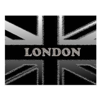 Gewerkschafts-Jack-London-Flaggen-Kunst-Geschenke Postkarte