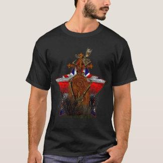 Gewerkschafts-Jack-Skelett-T - Shirt