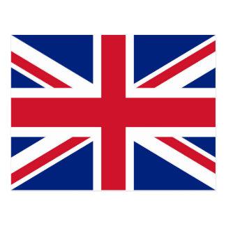 Gewerkschafts-Jackflagge Großbritanniens - Postkarte