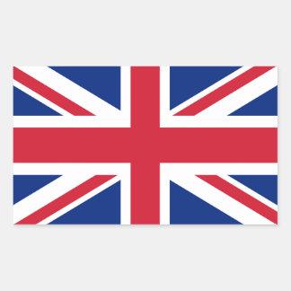 Gewerkschafts-Jackflagge Großbritanniens - Rechteckiger Aufkleber