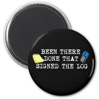 Gewesen dort… runder magnet 5,1 cm