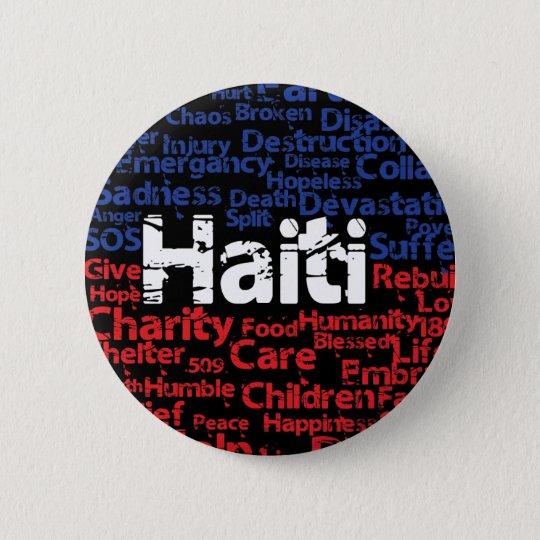 Gewinne zu - Haiti-Umbauten Runder Button 5,7 Cm