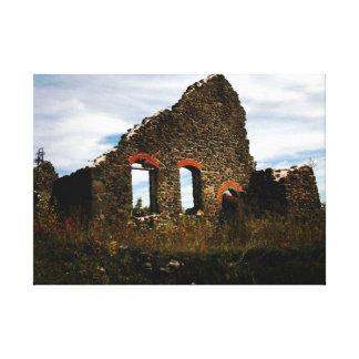 GewinnenLeinwand-Druck ruine-Hancocks Michigan Leinwanddrucke