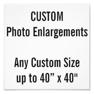 """Gewohnheit 10"""" x 10"""" Foto-Erweiterung bis zu 40"""" x Fotodruck"""
