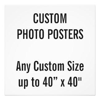 """Gewohnheit 24"""" x 24"""" Foto-Plakat, bis 40"""" x 40"""" Fotodruck"""