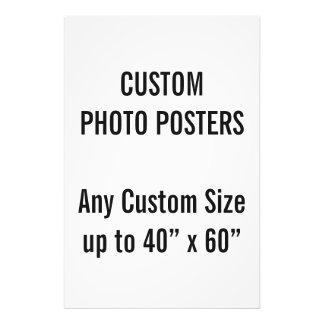"Gewohnheit 24"" x 6"" Foto-Plakat, bis 40"" x 60"" Kunst Foto"