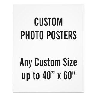 """Gewohnheit 280 x 350mm Foto-Plakat, bis 40"""" x 60"""" Fotodruck"""