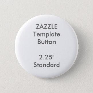 """Gewohnheit 2,25"""" runde Knopf-Raum-Schablone Runder Button 5,1 Cm"""
